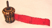 Tunbridge Stick Ware Acorn Tape Measure
