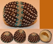 Beaded Egg Thimble holder