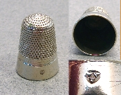 Nickel Silver Thimble - Iles
