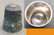 Ketcham and McDougall Silver Thimble