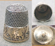 Rolled Gold Band Simons Thimble