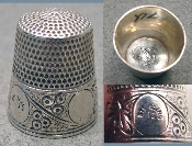 Simons Sterling Thimble