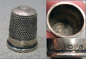 Silver Charles Horner Thimble
