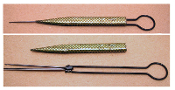 Antique Steel Umbrella Form Crochet Hook Set
